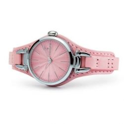 Hoops Jolie Pink Leather Strap 2517L05