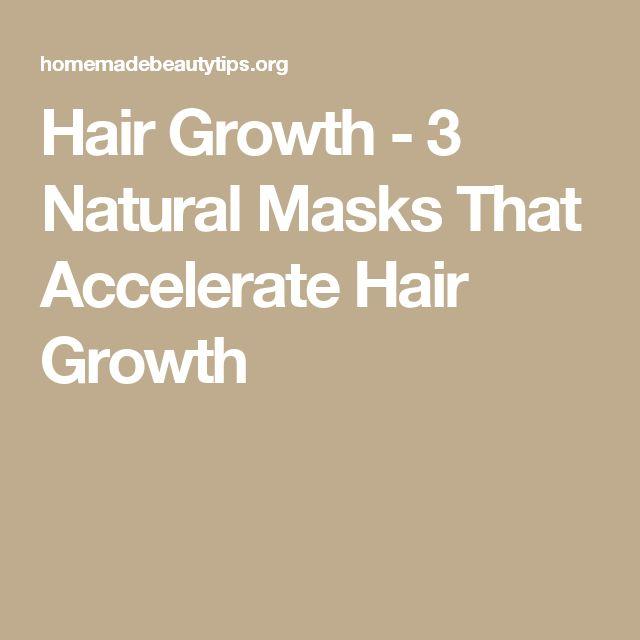 Hair Growth - 3 Natural Masks That Accelerate Hair Growth