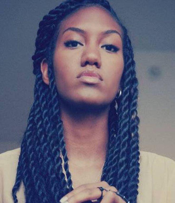 Enjoyable 1000 Ideas About Senegalese Twist Braids On Pinterest Short Hairstyles For Black Women Fulllsitofus