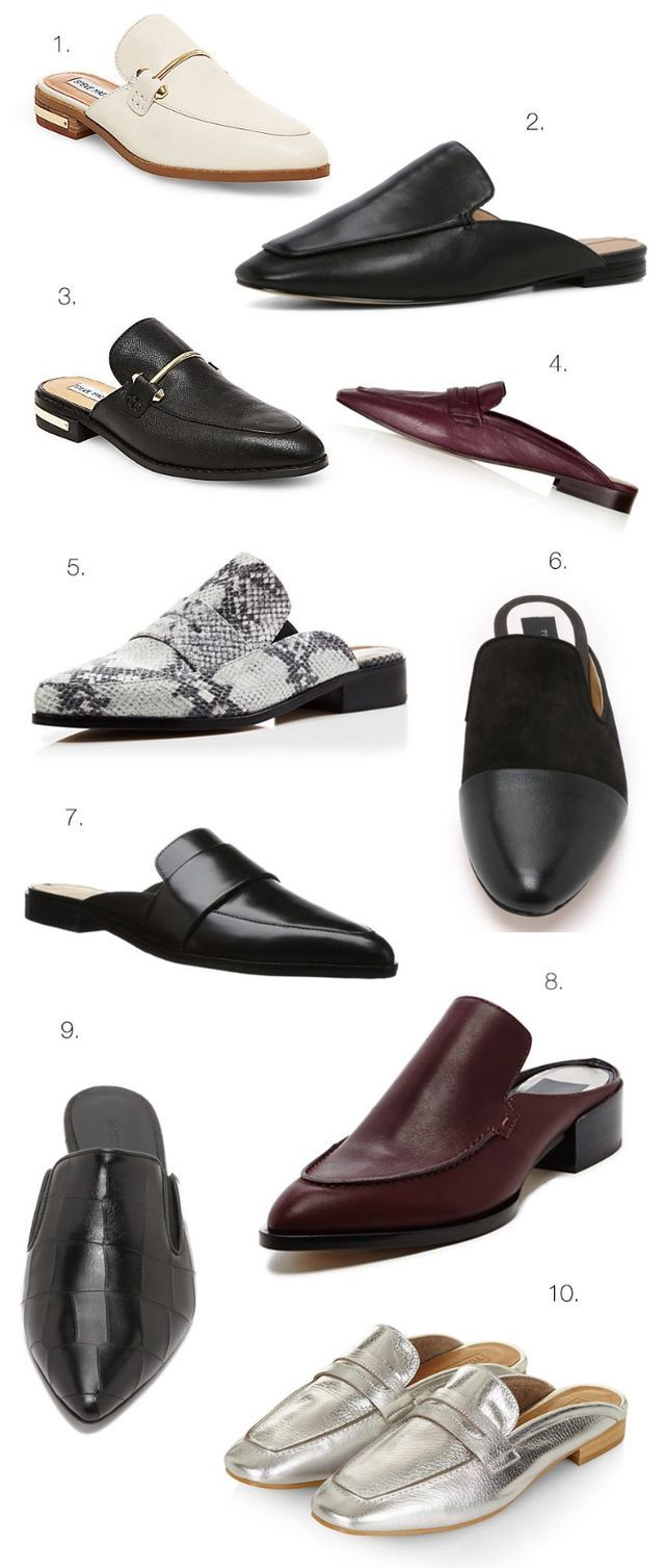 10 Cool Backless loafers                                                                                                                                                                                 More