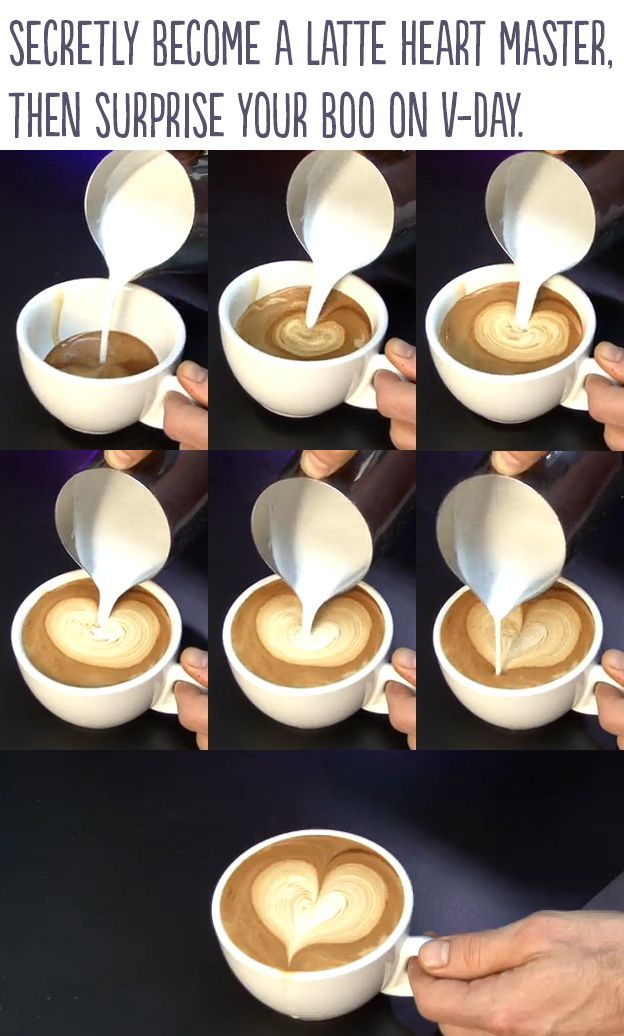 How to make a heart in someone's coffee 23 Insanely cool Ways