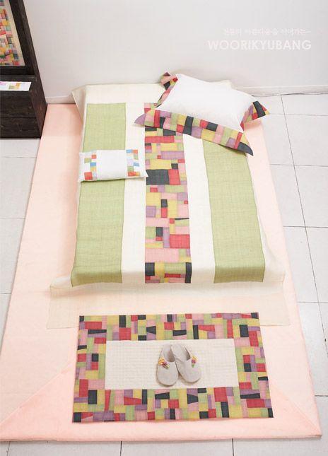 Zenana crafts / home fabric - linen interior with pieces: Naver blog