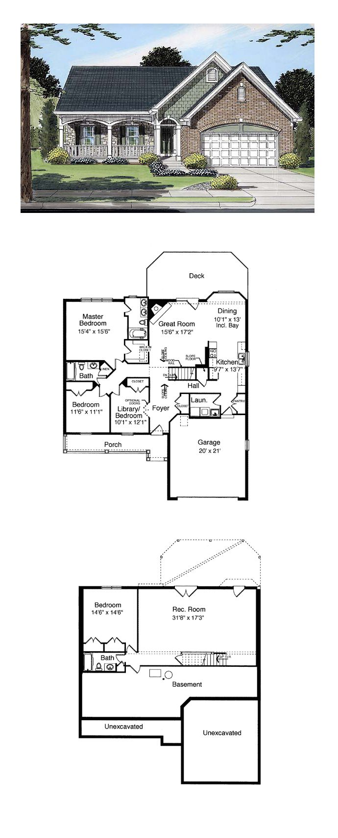 50 best bungalow house plans images on pinterest bungalow house bungalow country european house plan 50085