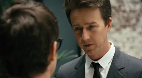 "Edward Norton in The Lonely Island's ""Spring Break Anthem"""