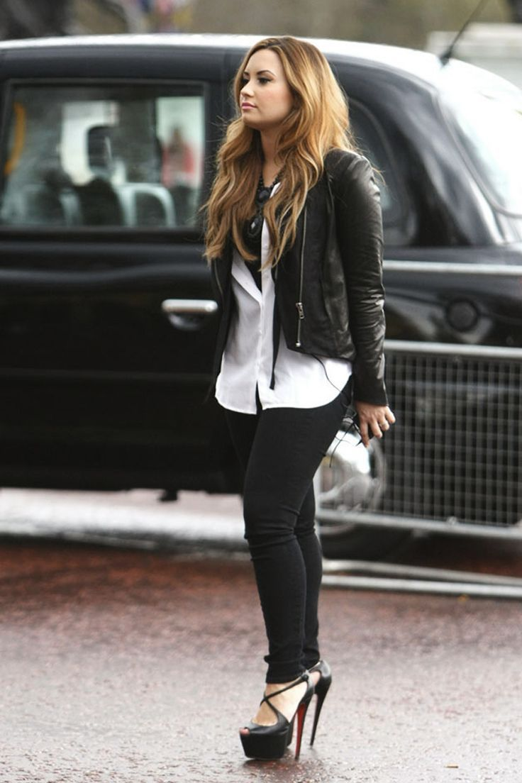 demi lovato style clothes - photo #6