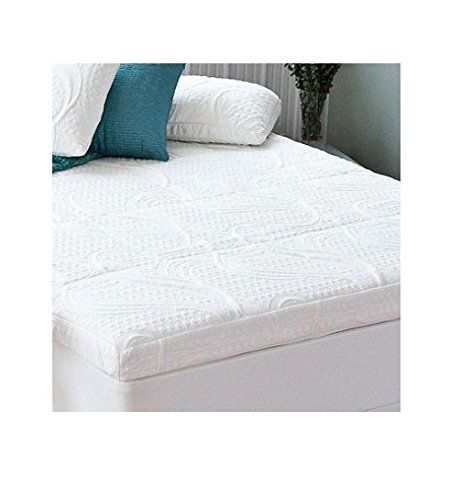 Night Therapy Memory Foam 4 Inch Pressure Relief Mattress Topper Queen Sleep Better Tonight With The By Zinus