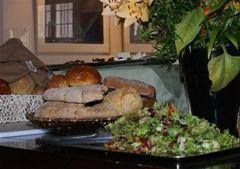 salade op tafel in Restaurant