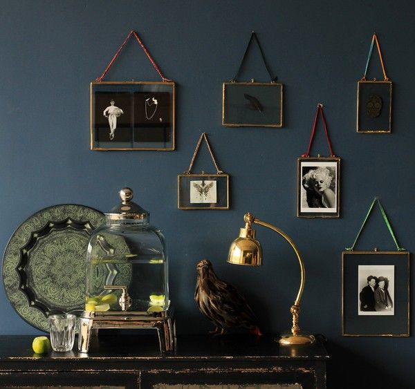 """Brass & Glass Picture Frame - 4""""x6"""" Portrait - View All - Home Accessories"""