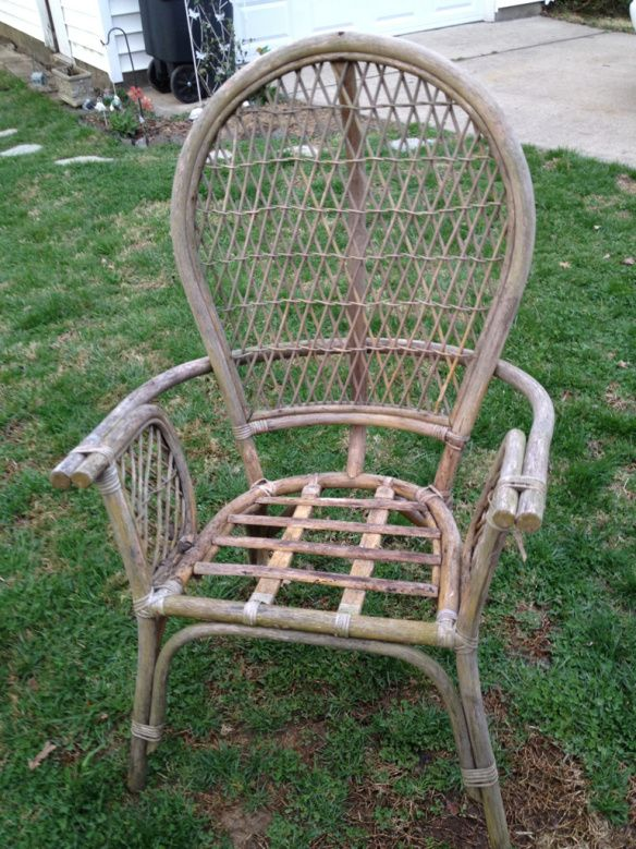 Repairing My Old Wicker Chairs. See More. 20120319 192528