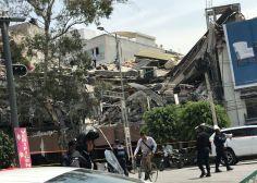 Sin aeropuerto, edificios caídos y derrumbes en CDMX