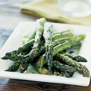 Roasted Asparagus with Balsamic Glaze and Lemon Zest | Williams-Sonoma