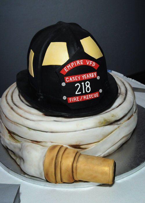 Firefighter Wedding - CakesDecor
