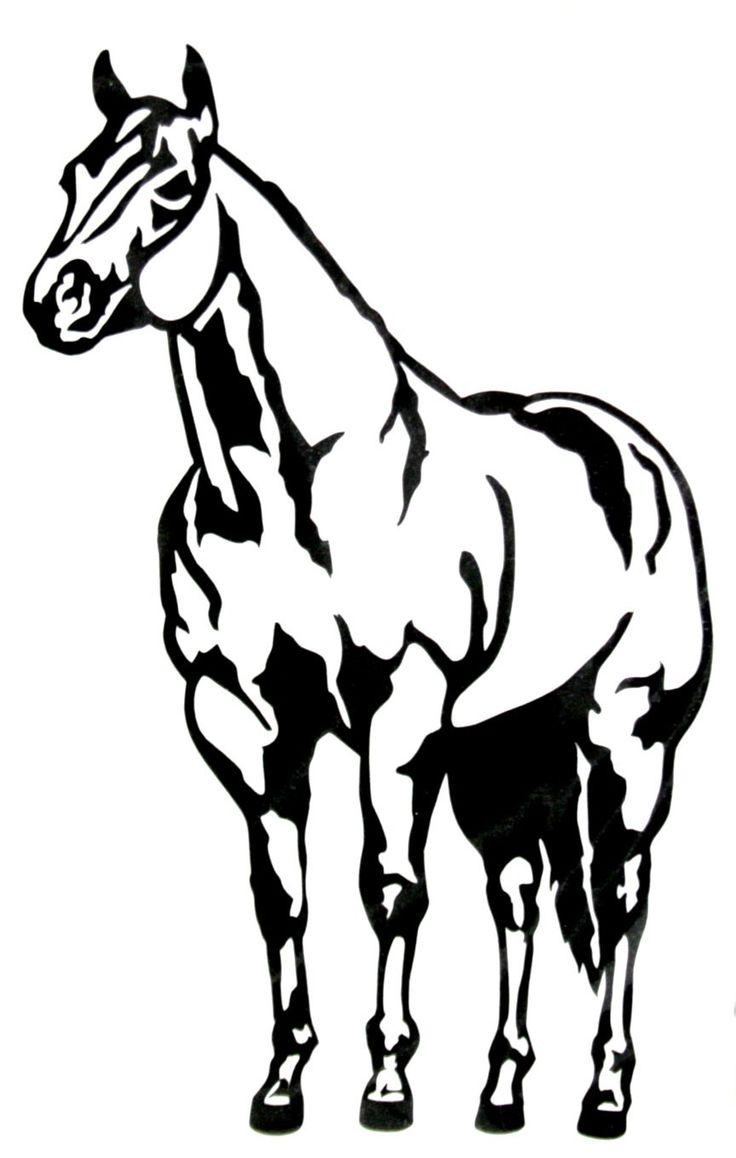 Halter Horse Clipart Clipart Kid Horse Silhouette