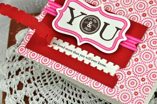 Zipper card  by Dawn McVey for Papertrey (February 2012).