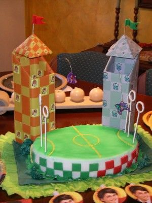 Quidditch Harry Potter Cake
