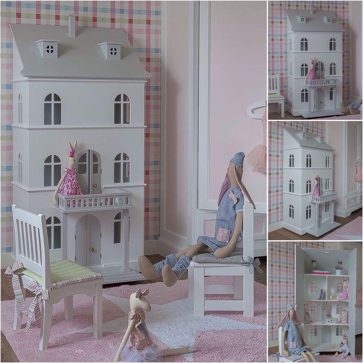 Duży domek dla lalek