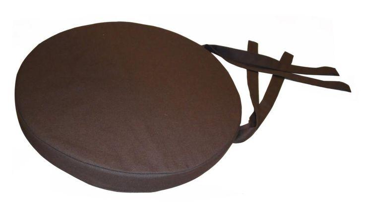 Plutôt originale, cette galette de chaise, non ? On aime la forme ronde de cette galette. Elle est en coton et fait 40 cm de diamètre D'autres coloris sont évidemment disponibles !