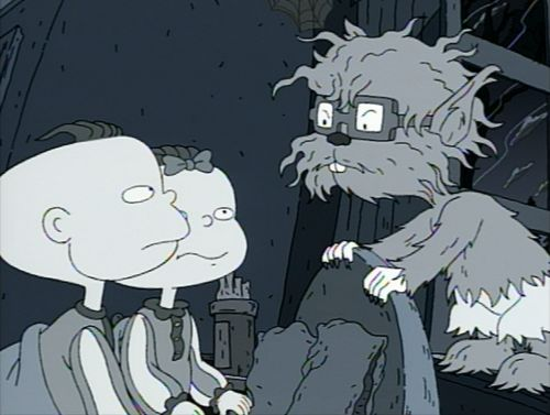 Chuckie as a werewolf in his nightmare | chuckie ...