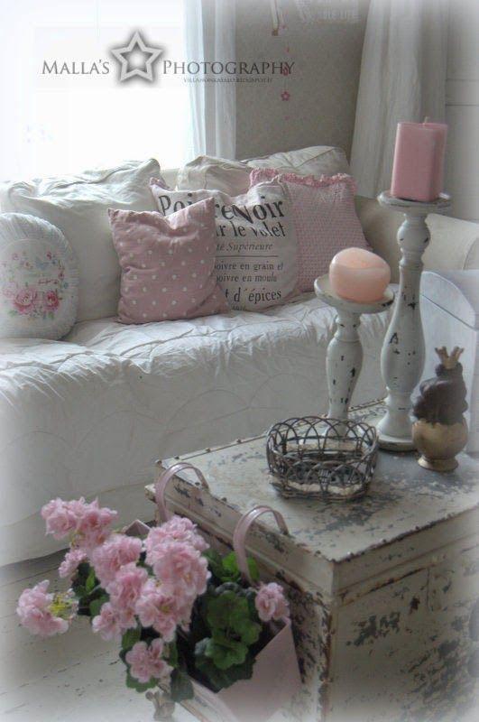 248 best french shabby images on pinterest home shabby - Deco noel shabby chic ...