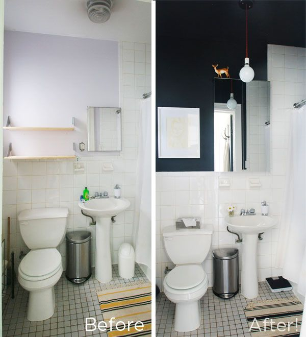Rental Apartment Bathroom Color Ideas: 25+ Best Ideas About Bathroom Before After On Pinterest