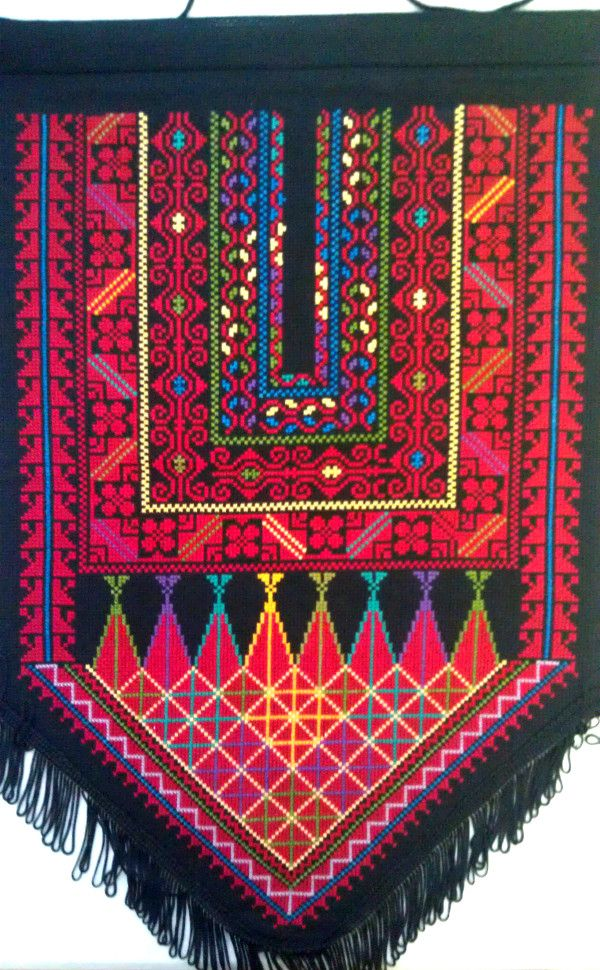 Wall hanging made by women's collective in Occupied Palestine