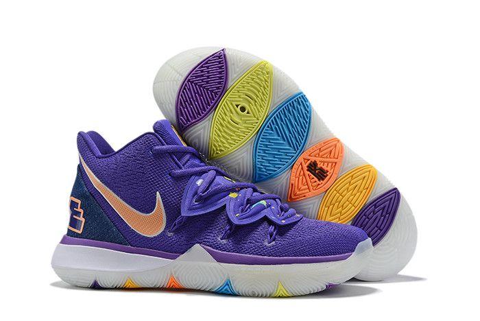 Nike Day Nike Kyrie 5 Blue Purple
