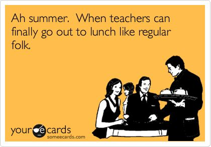 The Truth About Teacher Lunches | The Third Wheel