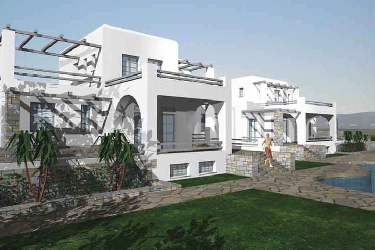 Δύο διώροφες εξοχικές κατοικίες στην Πάρο   vasdekis