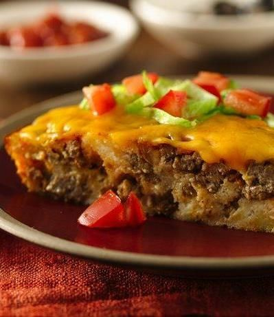Gluten Free Impossibly Easy Taco Pie (make sure ingredients are also soy free)