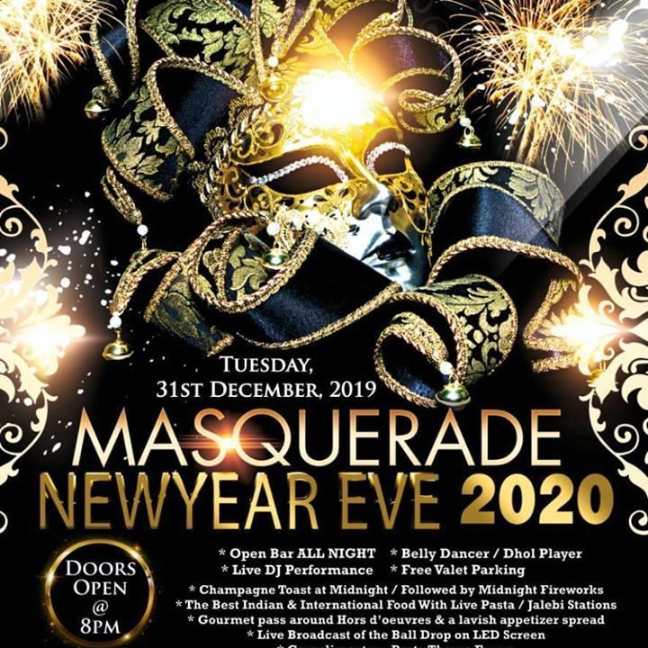 Get ready to be the part of biggest new year party event