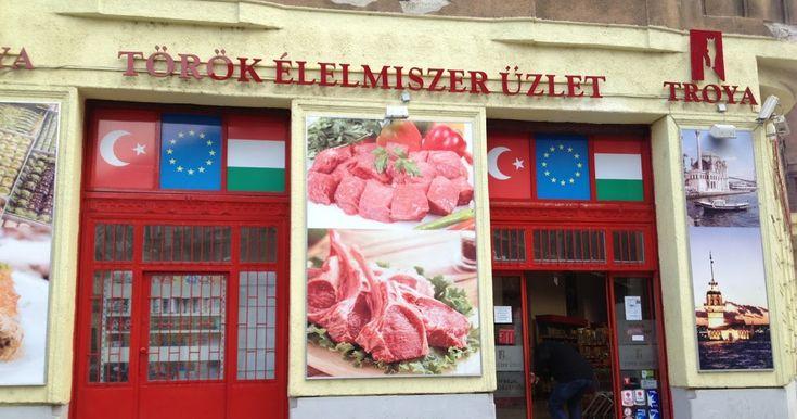 Troya török élelmiszerüzlet, Budapest, fűszerek, hús, bárány, marha, pékárú,
