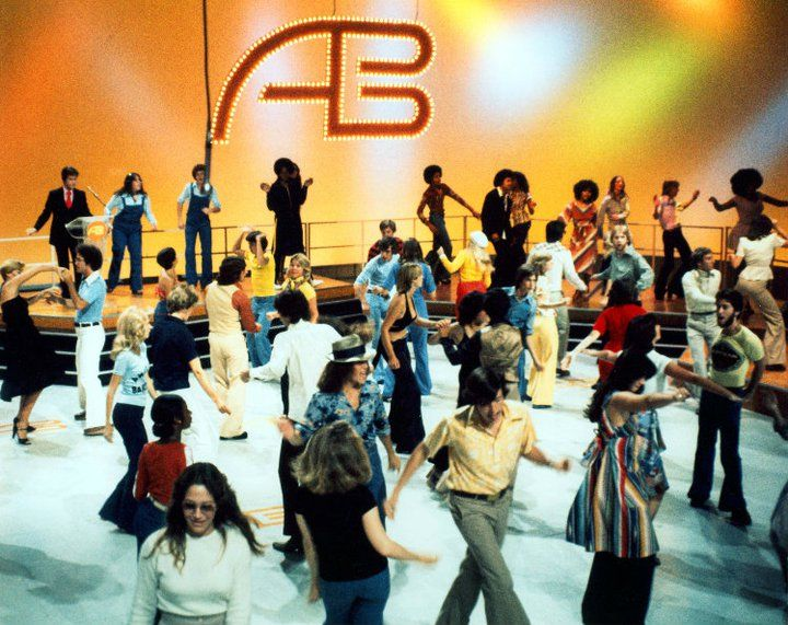 American Bandstand from the 1970's loved this Saturday afternoons when it aired. we felt like we got to know our favorite dance couples on there. good music and Dick Clark the world misses you.