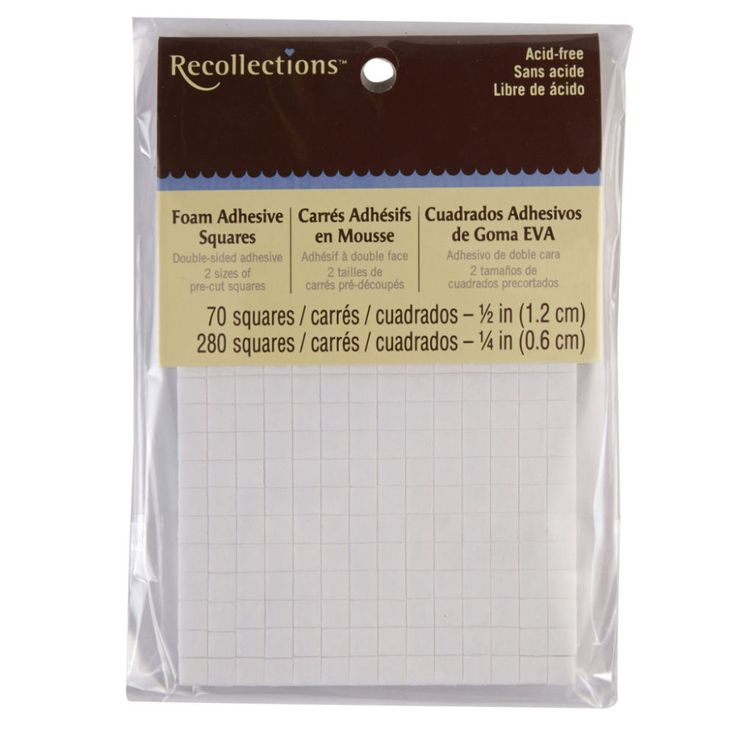 Recollections™ Foam Adhesive Squares