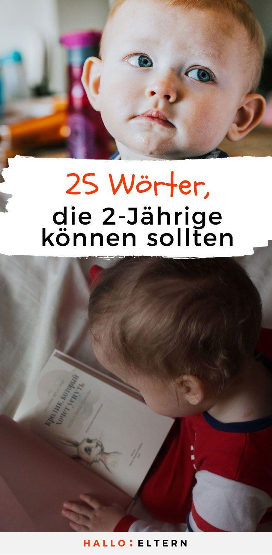 25 Wörter, die Zweijährige können sollten – Natalie Moh