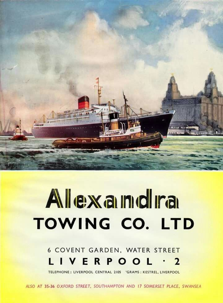 The Alexandra Towing Company Limited, Liverpool  | Franks