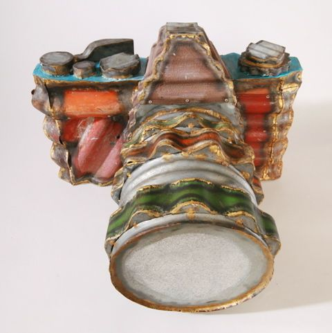 Jeff Thomson - Corrugated iron camera