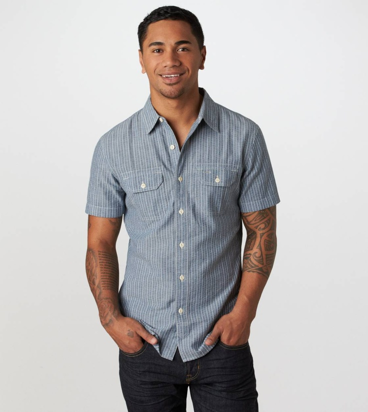 AE Embroidered Workwear Shirt