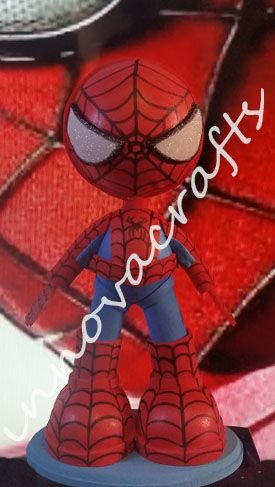 fofucho Spiderman https://www.facebook.com/fofuchasinnovacrafts/