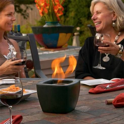 Ceramic Fire Pot from RealFlame, available at Rich's for the Home.