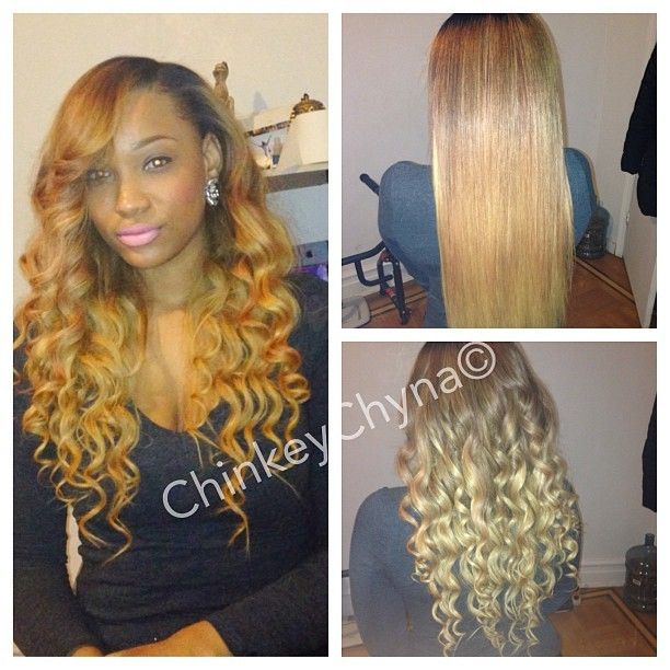 #Custom #Ombre' #Color #hair #hairstylist #indique #purewavy #indiq