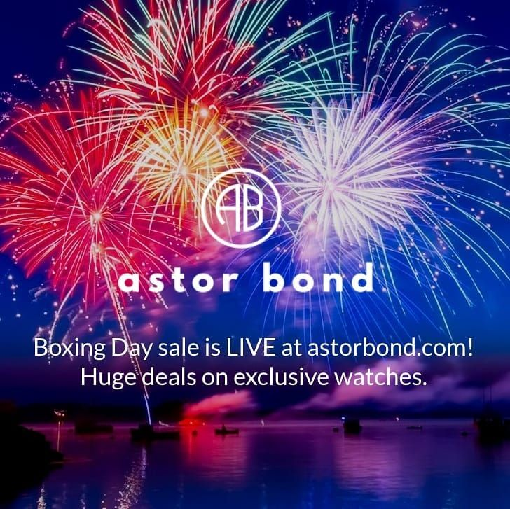 Check out our Boxing Day sale at: bit.ly/astorboxing -- Great deals on exclusive watches! Eterna Louis Erard Maserati Dreyfuss & Co Elysee and more.  #astorbond #eternawatches #louiserardwatches #ingersollwatches #dreyfusswatches #maserariwatches #rotarywatches #fiytawatches #menswatches #watchaddict #watchlover #watchnerd #boxingday #boxingdaysale #boxingdsyssles #horology