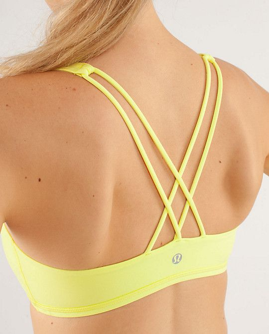 "lulu lemon ""free to be"" sports bra"