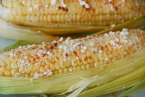 mexican grilled corn | Corn on the cob-oven cook... | Pinterest