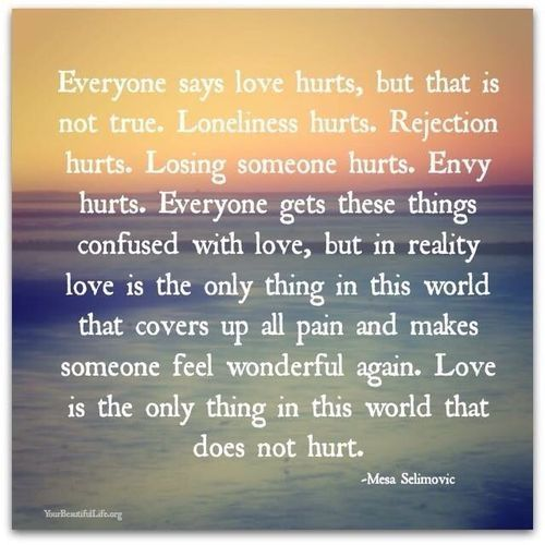 Best 25+ Love Hurts Quotes Ideas On Pinterest
