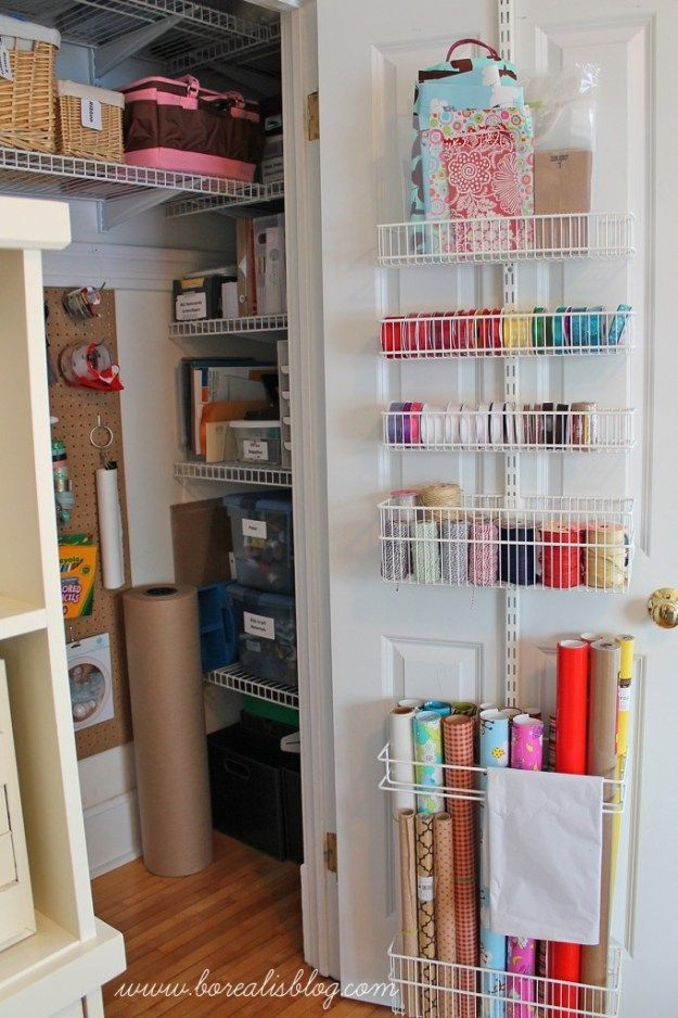8 great craft closets organization ideas simplicity in for Great closets