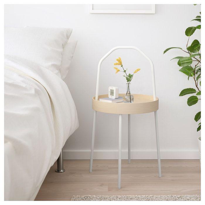 Burvik Beistelltisch Weiss Ikea Schweiz White Side Tables Ikea Side Table Side Table