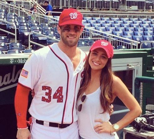 Kayla Varner a native from Las Vegas is the girlfriend now fiance of Bryce Harper, the talented outfielder for the Washington Nationals Bryce Harper.