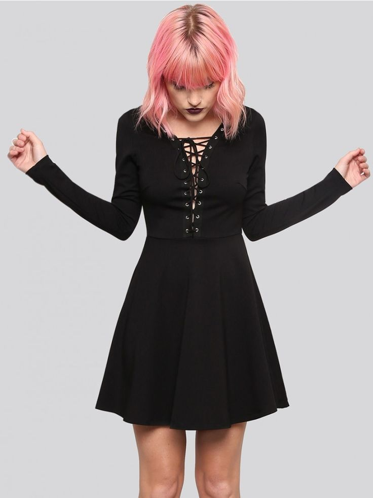 Lace Me Up Mini Dress - Gypsy Warrior