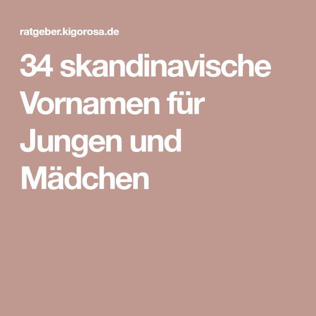34 skandinavische Vornamen für Jungen und Mädchen