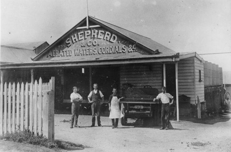 Shepherd & Co, Aerated Waters and Cordials factories, Sandgate, Brisbane